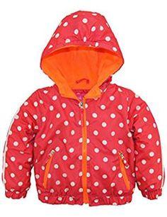 Pink 18 Months London Fog Baby Girls Lightweight Polka Dot Trench Coat