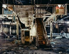 Dixie Square Mall in Harvey, Indiana - used for the mall chase scene in The Blues Brothers and abandoned since 1981