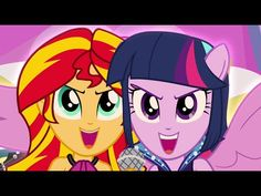 Welcome To The Show - MLP: Equestria Girls - Rainbow Rocks! [HD] - YouTube