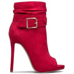 ADRIANA OPEN TOE BOOTIE Shoedazzle ❤ liked on Polyvore featuring shoes, boots, ankle booties, bootie boots, open toe booties, short boots, open toe ankle booties and slouchy ankle boots