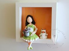 Türschild Frau - personalisiert - 3D Bild Disney Characters, Fictional Characters, 3d, Disney Princess, Home Decor, Woman, Decoration Home, Room Decor, Fantasy Characters