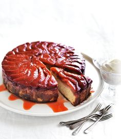 Upside-Down Quince Cake recipe | Food | In Season | MiNDFOOD