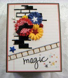 TPHH Sharon Chipboard PREMADE Simple Stories Disney Scrapbook Photo Album ~Video #HandmadebyScrapbook_MumSharon
