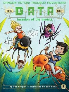 Investigating a swarm of creepy-crawly insects that has invaded the town of Newtonburg and converged on Dr. Bunsen's house, the DATA Set is challenged to discover the source of the pests while searching for Laura, who has gone missing after being shrunken down to bug size.