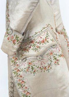 Вышивка на мужской одежде 18 века - Ярмарка Мастеров - ручная работа, handmade