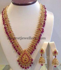 Jewellery Designs: Uncut Mango Haar by Shree Jewellers