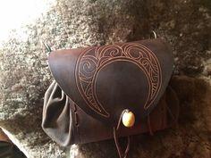 Magic Moon Belt bag Fanny pack waist bag Medieval von Elbengard