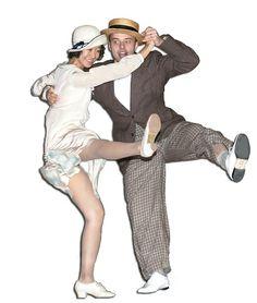 Learn to dance Charleston