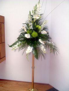 large floral arrangements | Large wedding pedestal flower arrangement | Flickr - Photo Sharing!