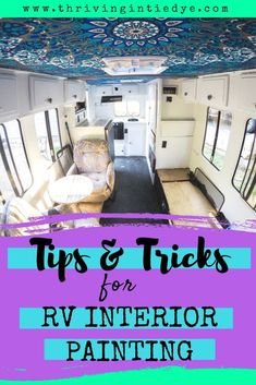 Have you been itching to paint the fake wood paneling in your camper? Or to cove. Rv Wallpaper, Painting Over Wallpaper, Wallpaper Ideas, Wood Panel Walls, Wood Paneling, Paint Rv, Old Campers, Diy Rv, Camper Renovation