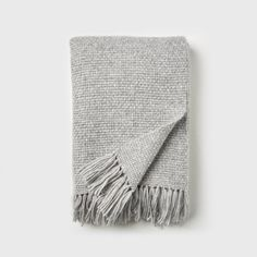 This chunky alpaca and merino wool throw blanket is perfect for throwing over the arm of a sofa or draping across the end of your bed for textural interest. Luxury Throws, Shaker Style, Jenni, Basket Weaving, Merino Wool, Baby Boy, Rooms, Interiors, Blanket
