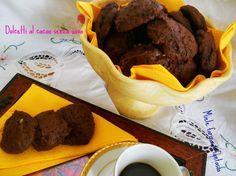 Biscotti cacao senza uova
