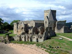 Inchcolm Abbey, Inchcolm Island, Firth of Forth. Probably my favorite place in Scotland.