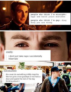 Steve Rogers<<<<<<I MADE THAT THATS MY TEXT POST THING OMG IM INTERNET FAMOUS HOLY POOP -debbie