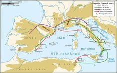 Second Punic War full-pt.svg