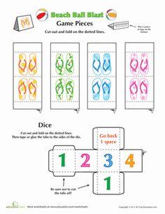 free printable board game at Education.com
