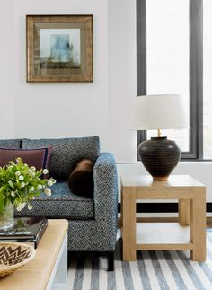 Living Room Inspiration Manhattan Apartment Filled with Pattern. For more inspirations go to: www.livingroomideas.eu