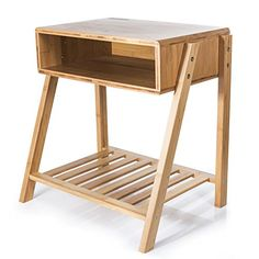 If you are looking for best ever bamboo side table online. Open cubby space and open shelf, organize books, electronics and necessities in your bedroom or living room. solid bamboo construction ensures years of lasting beauty and structural integrity. Bedside Storage, Storage Drawers, Storage Shelves, Storage Spaces, Shelf, Bamboo Structure, Bamboo Construction, Bamboo Table, Buy Bamboo