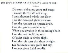 i am in the wind + i am not dead i did not die - Google Search