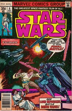 Star Wars 6 December 1977 Issue  Marvel Comics  by ViewObscura
