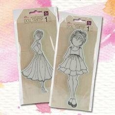 #sneekpeak: Prima Marketing dolls stamps, sale starting Saturday! #blitsybuys