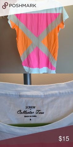 J CREW COLLECTOR TEES🔴 Sale! Nautical bright print perfect for spring or summer. J. Crew Tops Tees - Short Sleeve