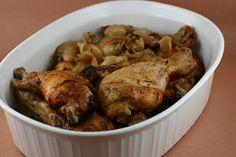 slow cooker garlic chicken