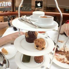 At TWG Tea Salon & Boutique, Marina Bay Sands Shopping Centre, Singapore