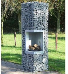 Great Snap Shots exterior Fireplace Outdoor Suggestions Planning for an Outdoor Fireplace? Outdoor fireplaces and fire pits develop a warm and inviting area Backyard Patio, Backyard Landscaping, Pergola Patio, Pergola Kits, Backyard Ideas, Backyard Seating, Fence Ideas, Pergola Ideas, Gabion Wall