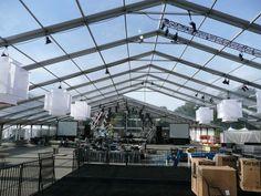 transparent tent - clear top tent - reception tent - dancing tent