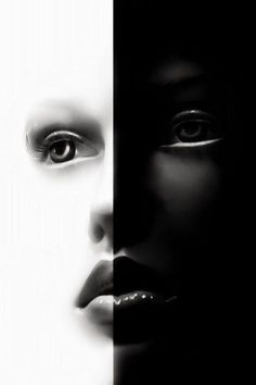 Black and White│Negro y Blanco - - Black N White, Black And White Pictures, White Art, Color Black, Arte Black, Foto Fashion, Shades Of Black, Light And Shadow, Yin Yang