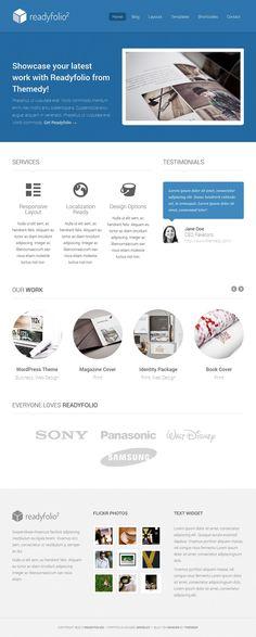 Custom homepage thesis theme