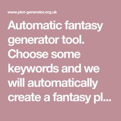 Choose some keywords and we will automatically create a horror plot in seconds. Story Prompts, Writing Prompts, Story Plot Generator, Fantasy Generator, Rp Ideas, Indie Books, Writing Help, Screenwriting, Horror Stories