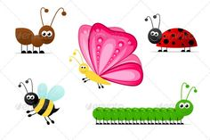 VECTOR DOWNLOAD (.ai, .psd) :: http://jquery-css.de/pinterest-itmid-1001067254i.html ... Simple Cartoon Insects ...  animal, ant, bee, butterfly, cartoon, caterpillar, collection, honey bee, illustration, insect, isolated, ladybug, nature, simple, small, smiling  ... Vectors Graphics Design Illustration Isolated Vector Templates Textures Stock Business Realistic eCommerce Wordpress Infographics Element Print Webdesign ... DOWNLOAD :: http://jquery-css.de/pinterest-itmid-1001067254i.html