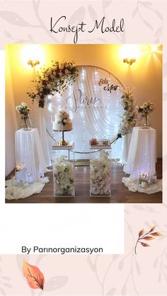 Diy Wedding Backdrop, Wedding Stage Decorations, Anniversary Decorations, Engagement Party Decorations, Wedding Designs, Wedding Styles, Romantic Bedroom Design, Event Planning Design, Wedding Photo Inspiration