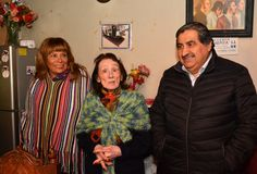 Celebración 105 años de Elena Cáceres