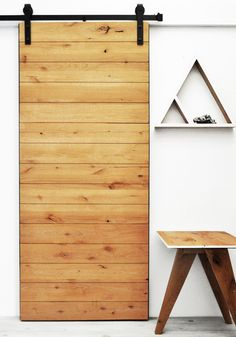 DIY barn door can be your best option when considering cheap materials for setting up a sliding barn door. DIY barn door requires a DIY barn door hardware and a Interior Sliding Barn Doors, Sliding Barn Door Hardware, Sliding Doors, Door Hinges, Inside Barn Doors, Double Barn Doors, Diy Barn Door, Entrance Doors, Patio Doors