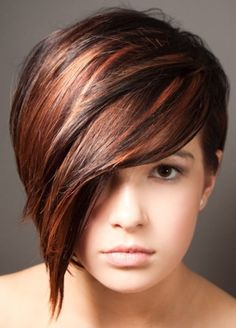 Pixie Haircut With Long Bangs - Hairstyle For Women Inspirations Sleek Hairstyles, Undercut Hairstyles, Trending Hairstyles, Pixie Hairstyles, Pixie Haircuts, Bangs Hairstyle, Layered Hairstyles, Hairdos, Short Hair Long Bangs