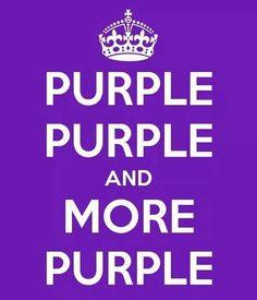 purple everywhere . just for you .oooooo : c ) Purple Love, All Things Purple, Purple Lilac, Shades Of Purple, Deep Purple, Periwinkle, Purple Stuff, Purple Hair, Purple Quotes