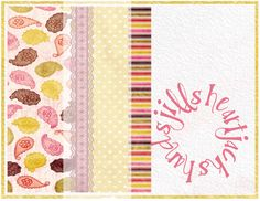 Blank Yellow Pink