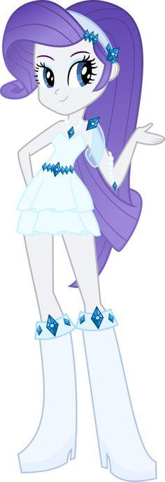 Rarity (c) Hasbro MLP(c) Hasbro Design of dress by me. Original image by selenaede.deviantart.com/art/E… Made in Inkscape.