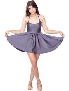 Nylon Tricot Figure Skater Dress | Shop American Apparel - StyleSays