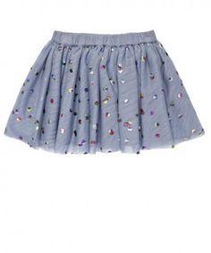 Stella McCartney kids girls party skirt