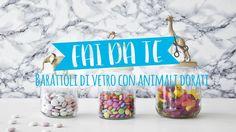 Dalani Tutorial | Vasetti con animali dorati: originali idee fai da te