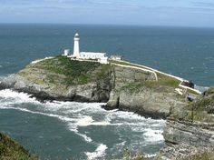 holyhead in angelsey    South Stack Light House