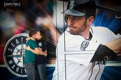 Seattle Mariners engagement photography