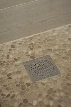 Best Pebble Floors Images On Pinterest Bathroom Ideas Master - Best grout for pebble tile