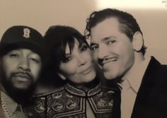 El DeBarge, with Kris Jenner, Christmas Eve Party, 2015