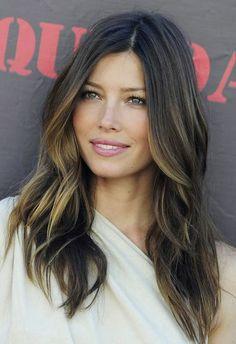 Jessica's beautiful hair with the balayage effect! New upcoming hair salon effect! #hairsalon #salonhair #2014hair #celebhair For all your salon needs #kellerinternational