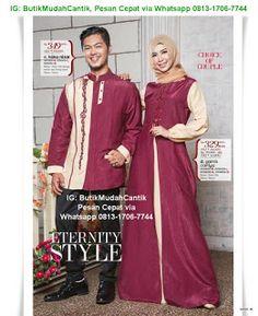 Butik Baju Muslim Terbaru 2018: Gaun Pesta Muslim Family Set, Muslim, Sari, Couples, Style, Fashion, Saree, Swag, Moda